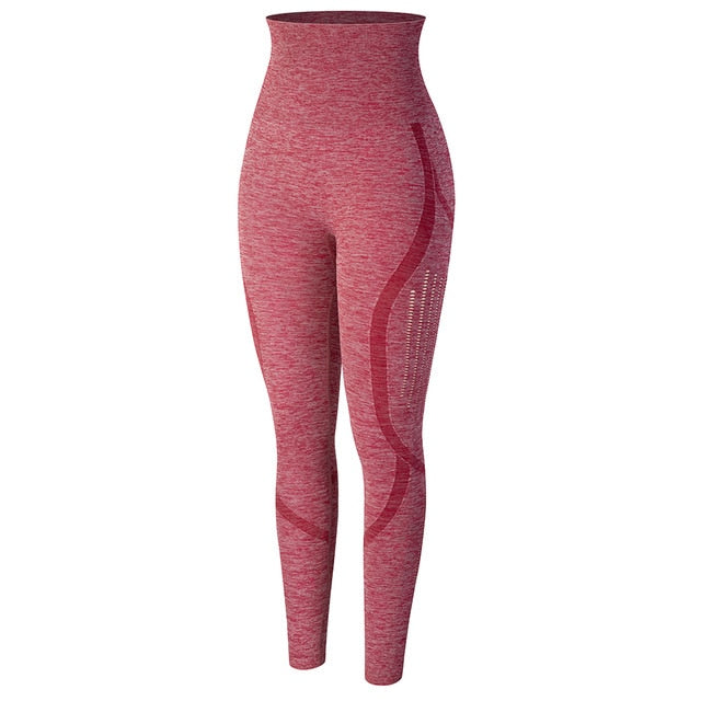 Mesh Contour Seamless Leggings