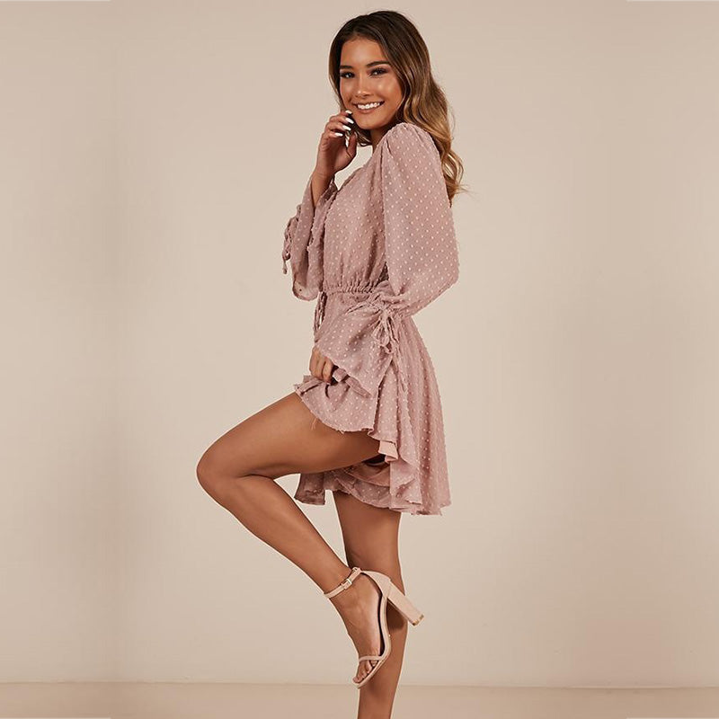 Playful Sheer Romper