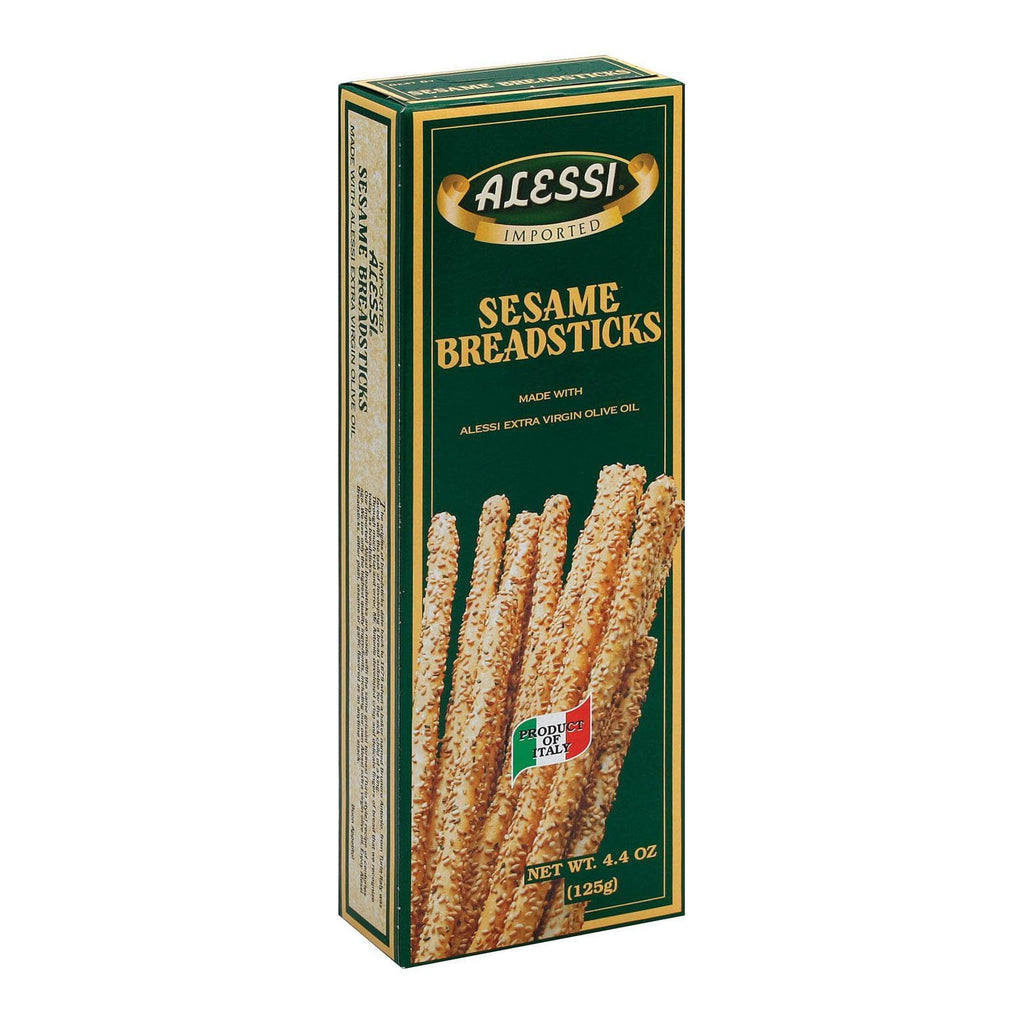 Alessi Crackers & Crispbreads Alessi Breadsticks - Sesame - Case Of 6 - 4.4 Oz.
