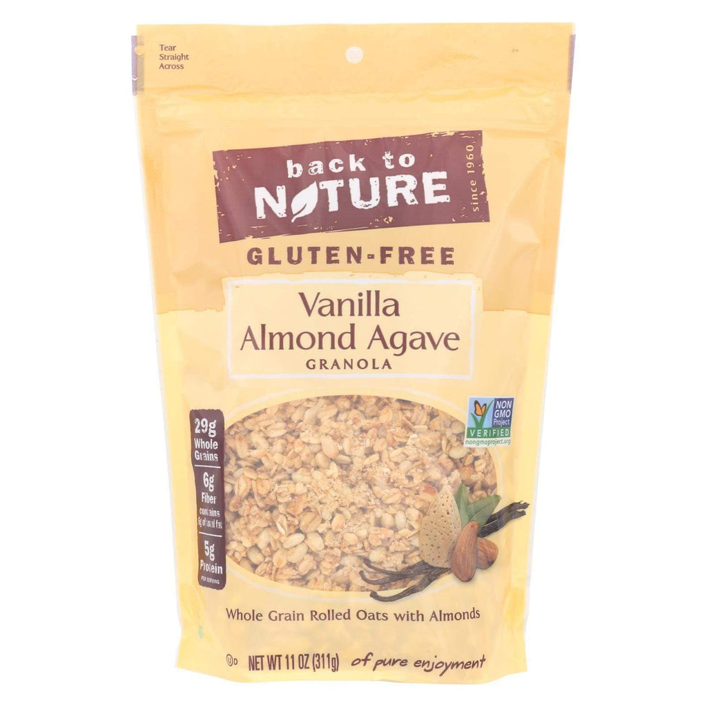 Back To Nature Nuts, Seeds & Granola Back To Nature Granola - Vanilla Almond Agave - 11 Oz - Case Of 6