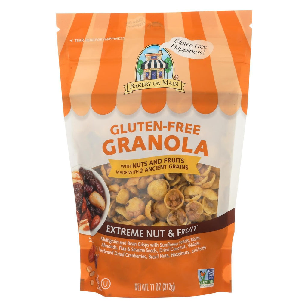 Bakery On Main Nuts, Seeds & Granola Bakery On Main On Main Gluten Free Granola Extreme - Fruit And Nut - Case Of 6 - 12 Oz.