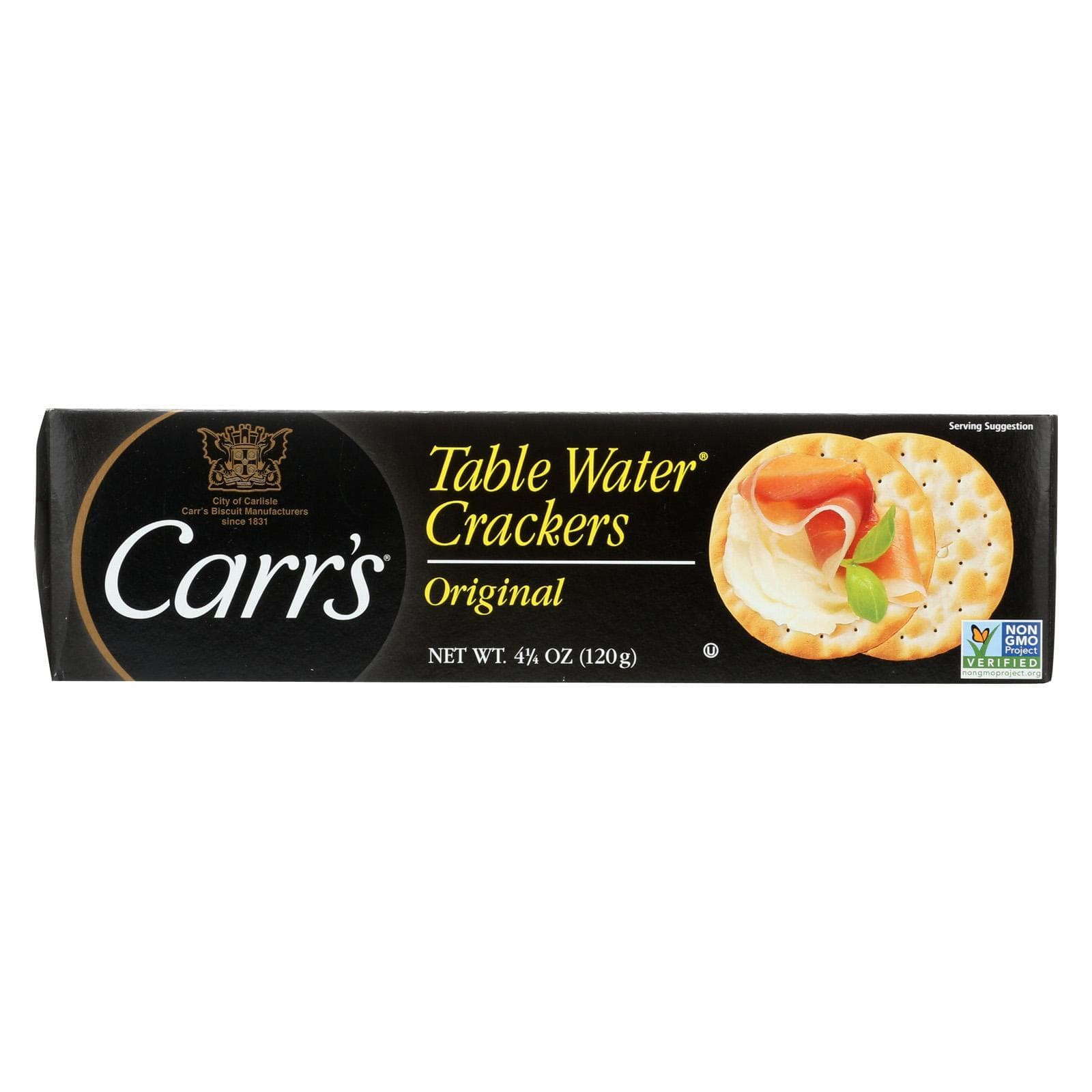 Carr's Crackers & Crispbreads Carr's Bite Size Table Water Cracker - Case Of 12 - 4.25 Oz