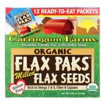 Carrington Farms Cookies & Pastries Carrington Farms Organic Milled Flax Seeds - Case Of 6 - 0.42 Oz.