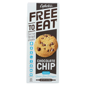 Cybel's Free To Eat Cookies & Pastries Cybel's Free To Eat Chocolate Chip Cookies - Case Of 6 - 6 Oz.