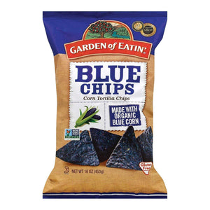 Garden Of Eatin' Chips, Pretzels & Popcorn Garden Of Eatin' Blue Corn Tortilla Chips - Blue Corn - Case Of 12 - 16 Oz.