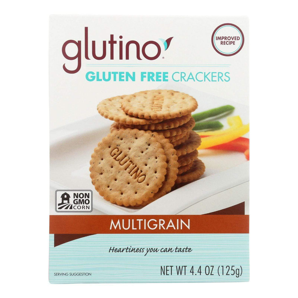 Glutino Crackers & Crispbreads Glutino Multigrain Crackers - Case Of 6 - 4.4 Oz.