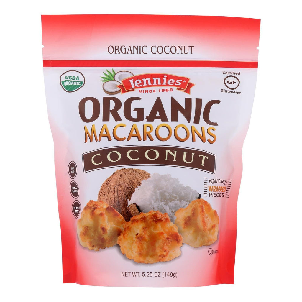 Jennies Cookies & Pastries Jennies - Macaroon Coconut - Case Of 6 - 5.25 Oz