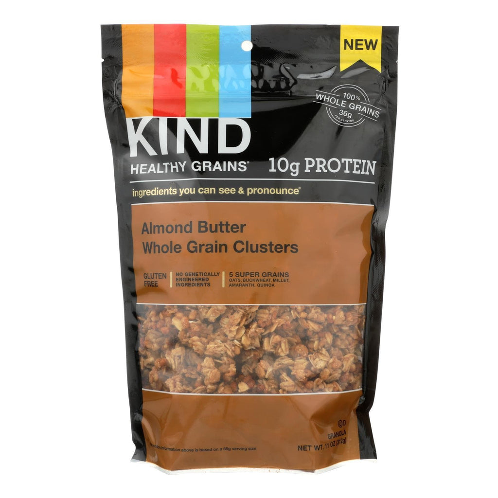 Kind Nuts, Seeds & Granola Kind Almond Butter Whole Grain Clusters - Case Of 6 - 11 Oz