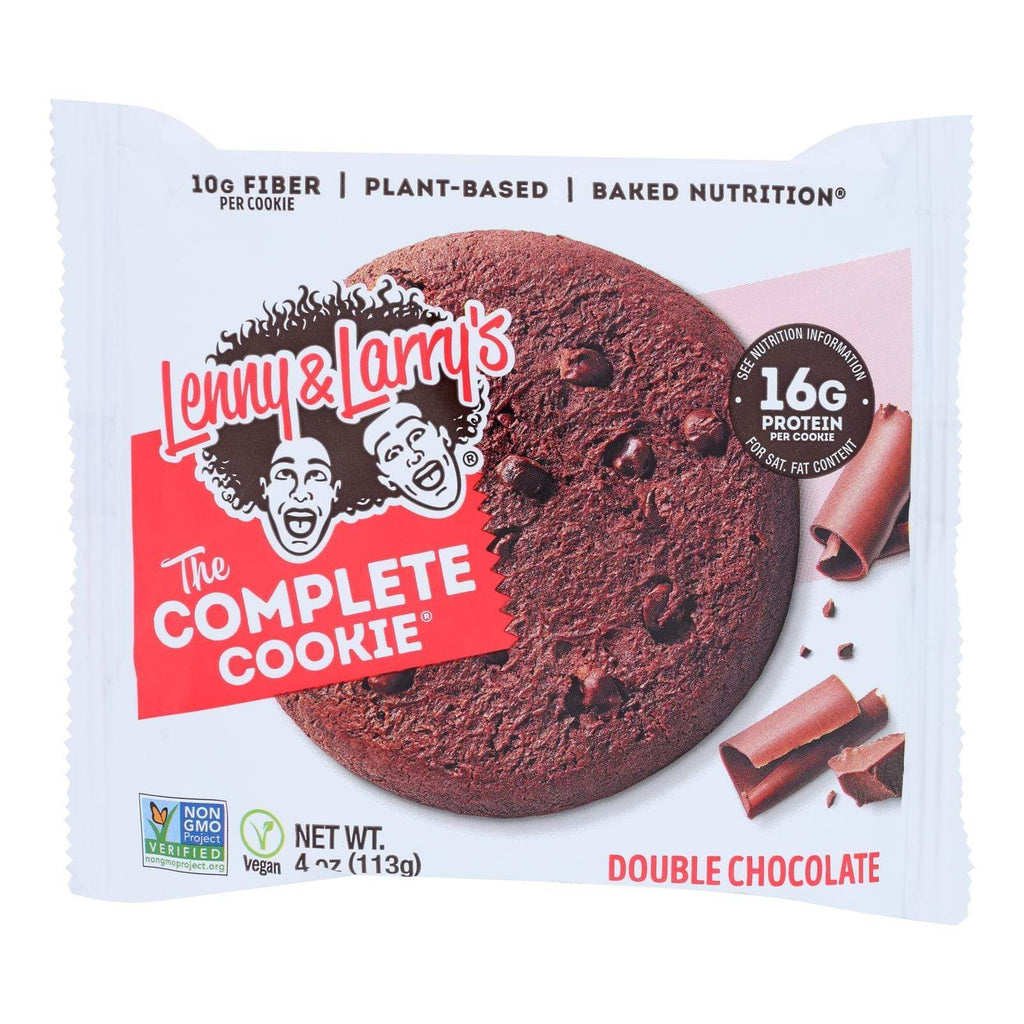 Lenny And Larry's Cookies & Pastries Lenny And Larry's The Complete Cookie - Double Chocolate - 4 Oz - Case Of 12
