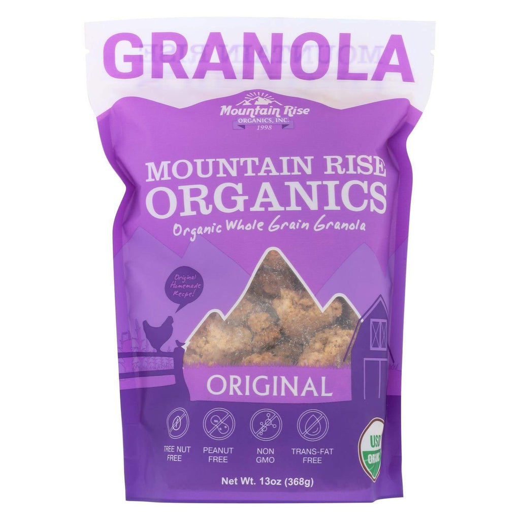 Mountain Rise Nuts, Seeds & Granola Mountain Rise Mountain Rise Granola Original - Granola - Case Of 6 - 13 Oz.