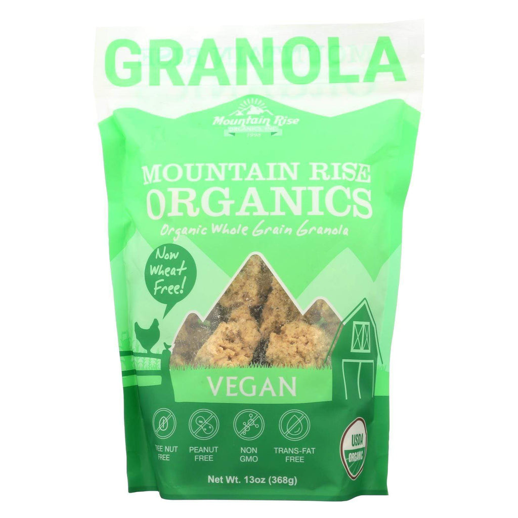 Mountain Rise Nuts, Seeds & Granola Mountain Rise Mountain Rise Granola Vegan - Granola - Case Of 6 - 13 Oz.