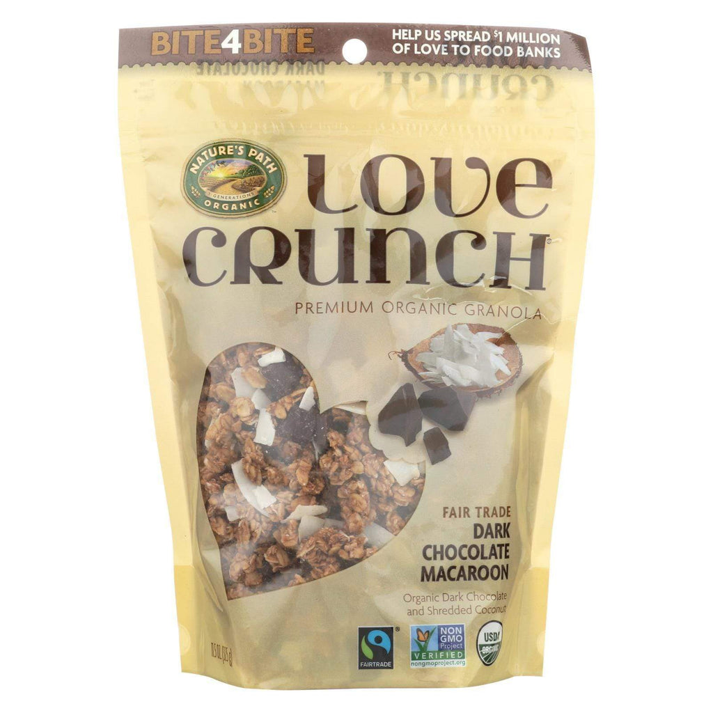Nature's Path Nuts, Seeds & Granola Nature's Path Love Crunch - Dark Chocolate Macaroon - Case Of 6 - 11.5 Oz.
