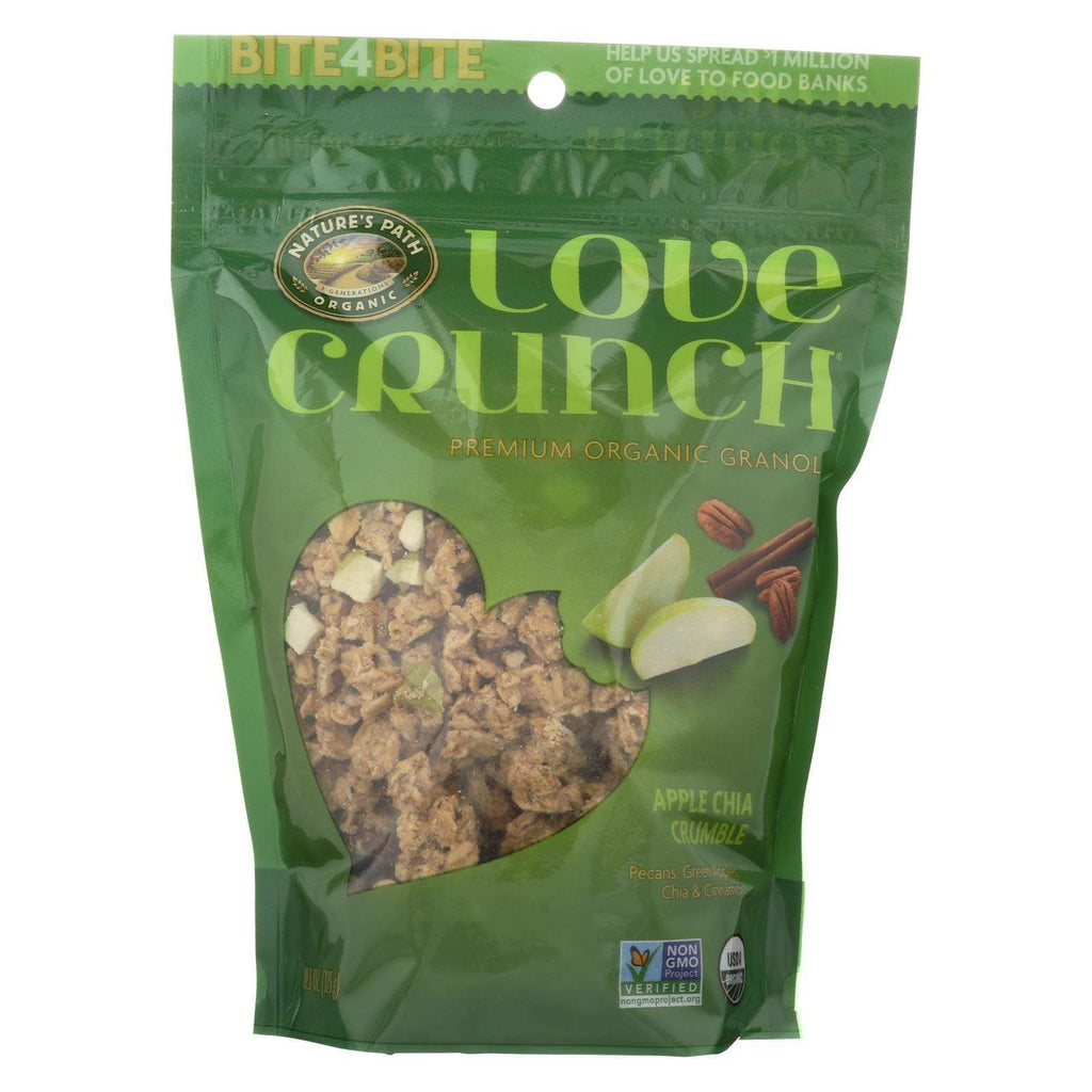 Nature's Path Nuts, Seeds & Granola Nature's Path Organic Love Crunch Granola - Apple Crumble - Case Of 6 - 11.5 Oz.
