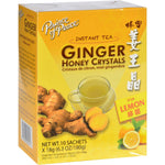Prince Of Peace Teas, Coffee & Energy drinks Prince Of Peace Tea - Instant - Ginger Honey Crystals - With Lemon - 10 Sachets