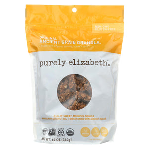 Purely Elizabeth Nuts, Seeds & Granola Purely Elizabeth Organic Ancient Grain Granola - Original - Case Of 6 - 12 Oz.