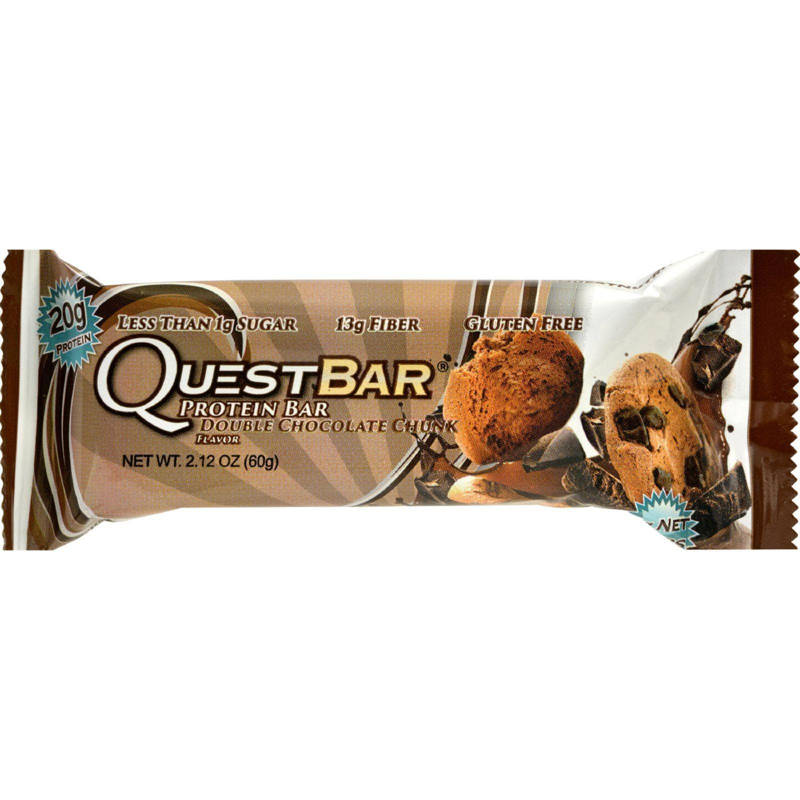 Quest Nutrition Bars Quest Bar - Double Chocolate Chunk - 2.12 Oz - Case Of 12