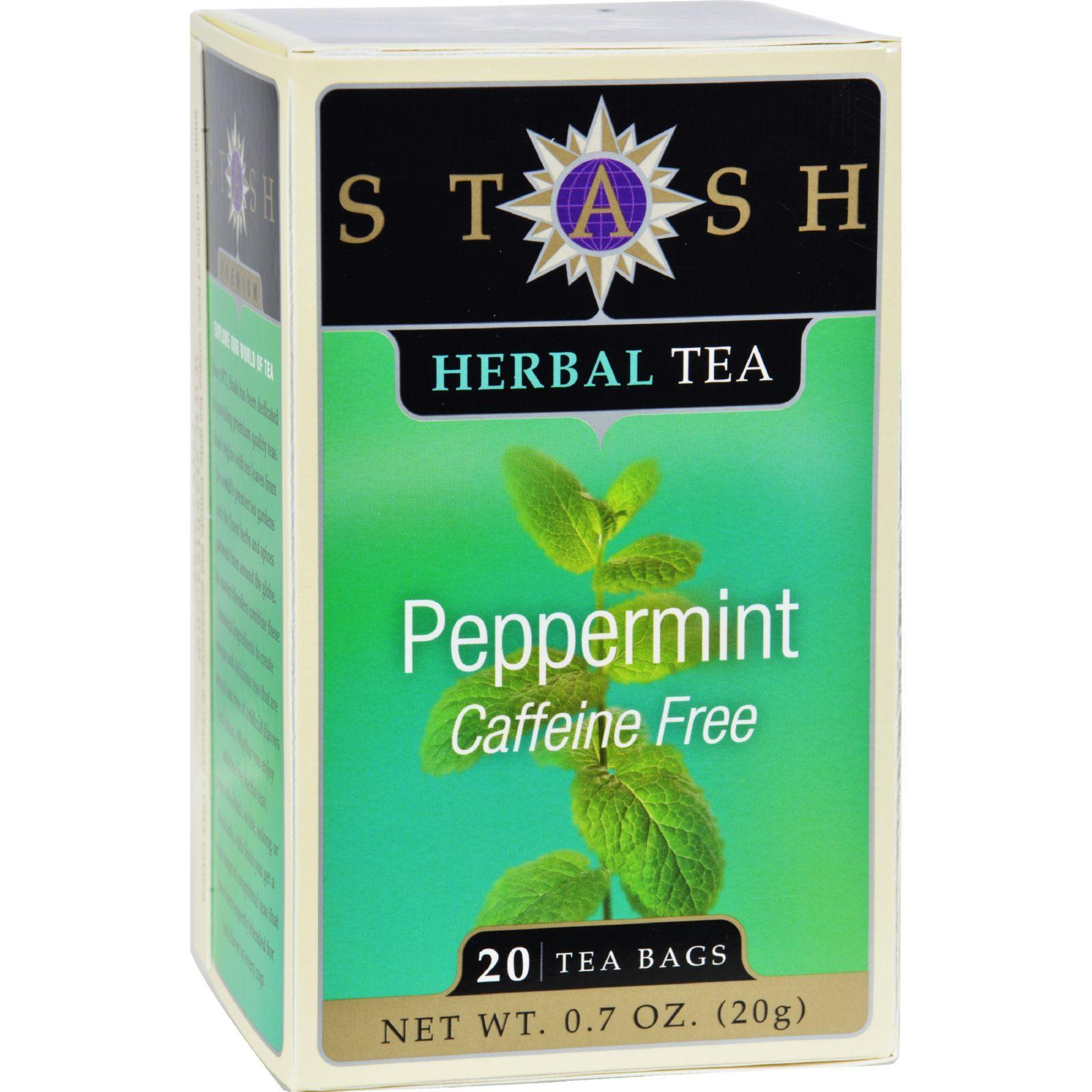 Stash Tea Teas, Coffee & Energy drinks Stash Tea - Herbal - Peppermint - 20 Bags - Case Of 6