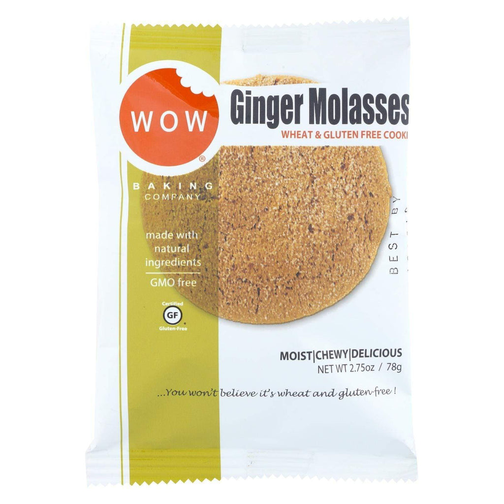 Wow Baking Cookies & Pastries Wow Baking Cookie Ginger Molasses - Case Of 12 - 2.75 Oz.