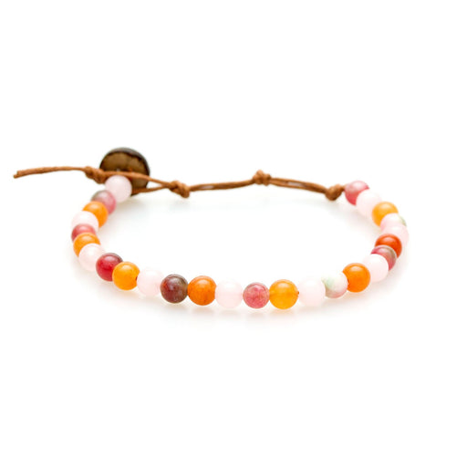 6mm Love + Prosperity Healing Bracelet