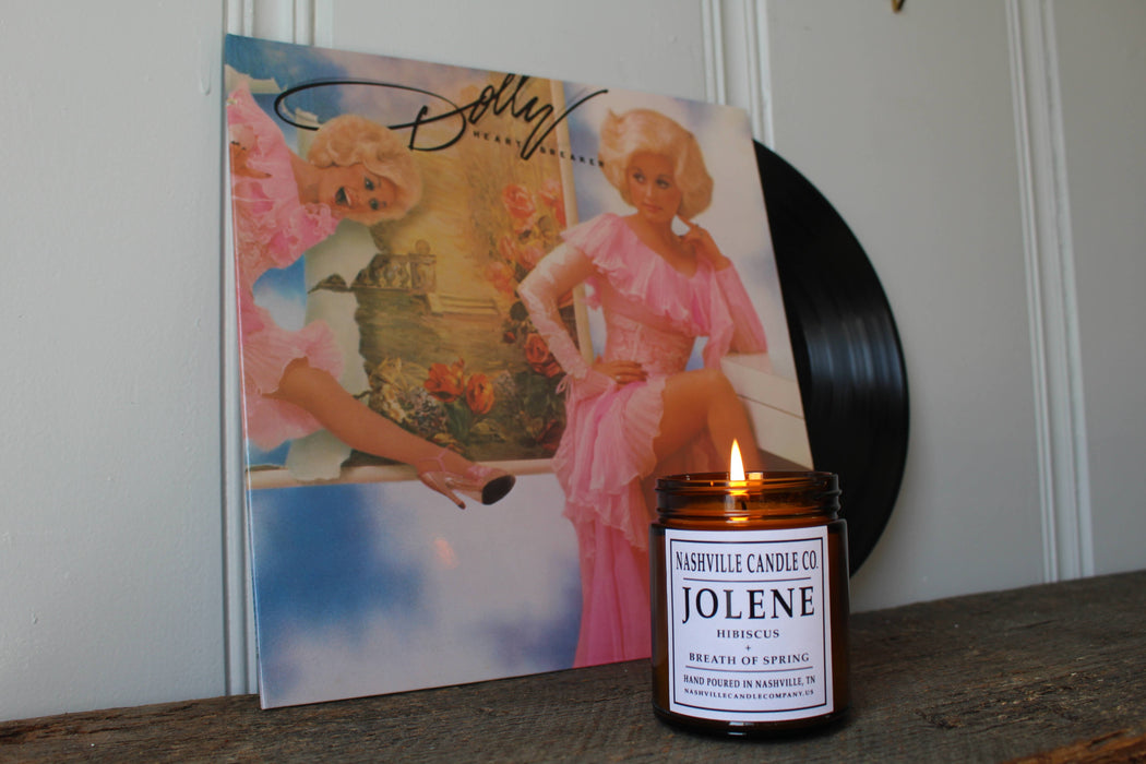 Jolene / Hibiscus + Breath of Spring