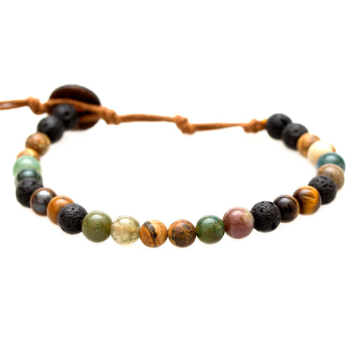 6mm Strength + Courage Healing Bracelet