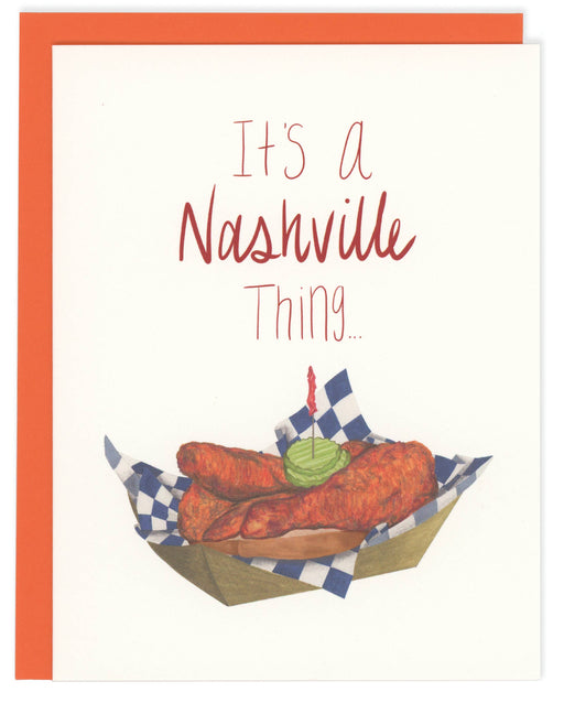 It's A Nashville Thing Greeting Card