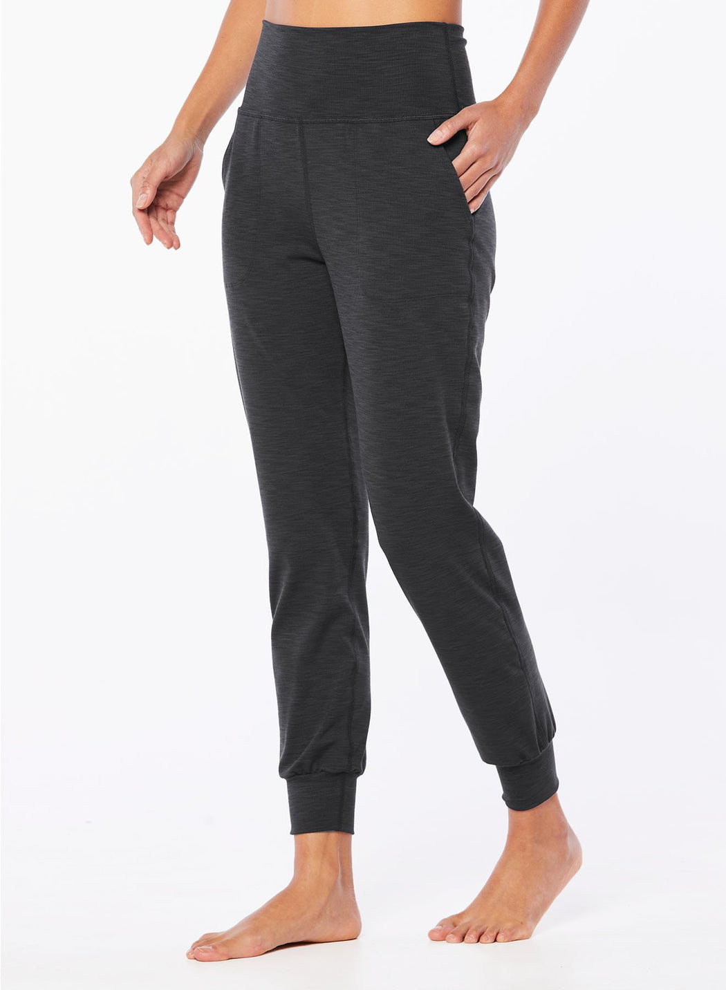Beyond Yoga Heather Rib Jogger