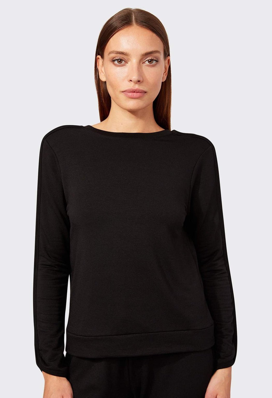 Reese Fleece Crop Sweatshirt