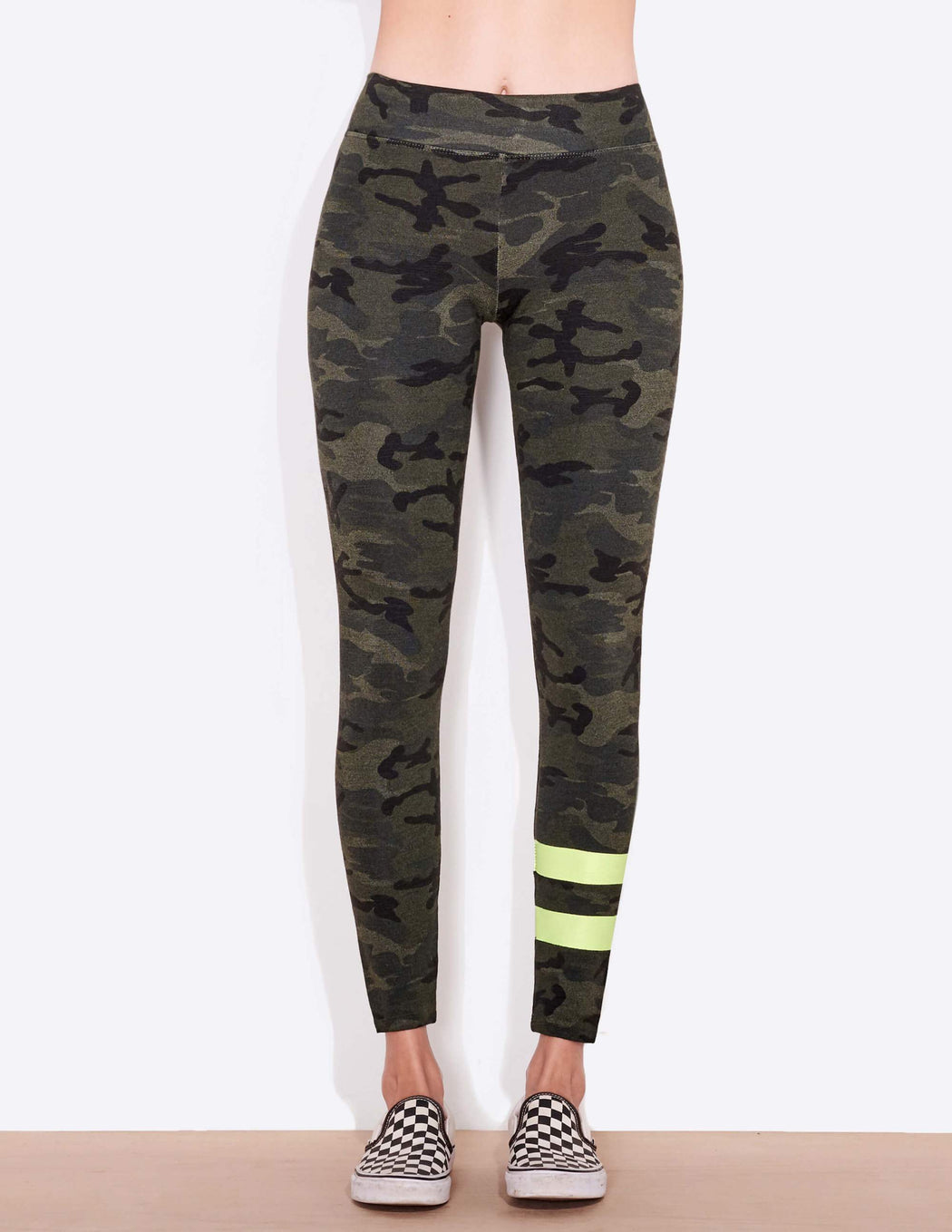 Sundry Camo Yoga Leggings