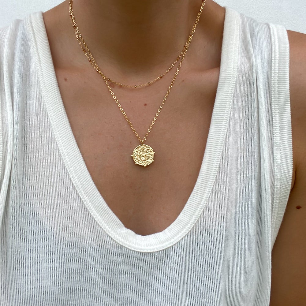Rune + Light St Benedict Coin Necklace