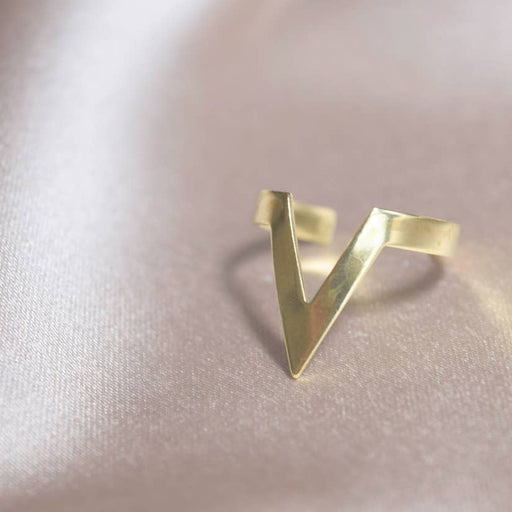 Mashallah Single Chevron Ring
