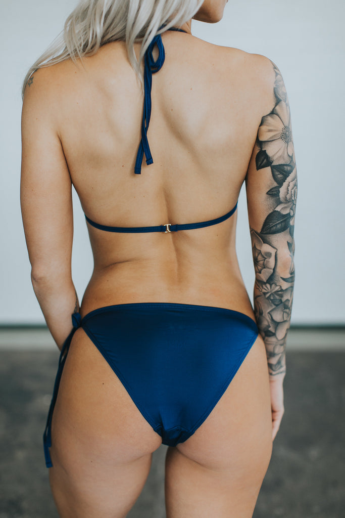 SADIE BOTTOM - Delta Navy FINAL SALE
