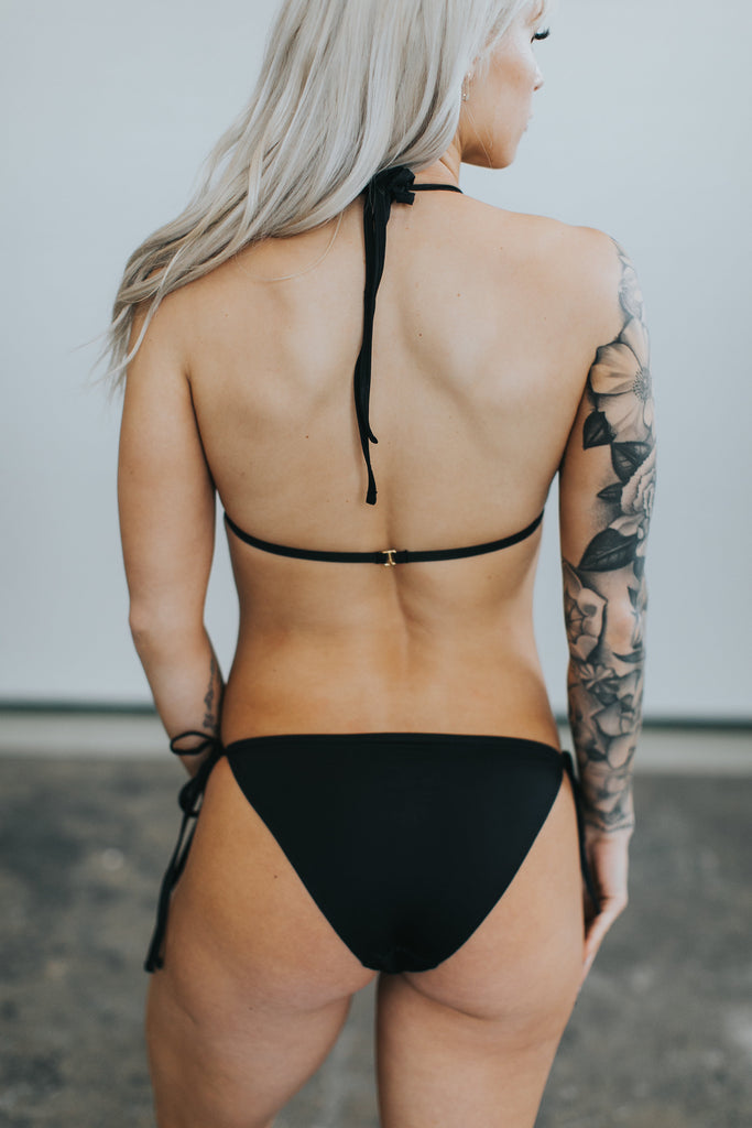 SADIE BOTTOM - Black FINAL SALE