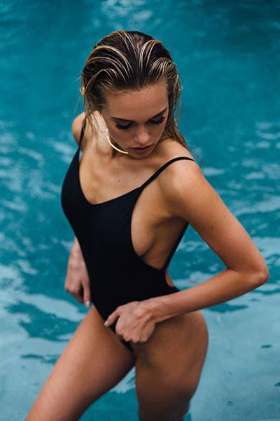FAWN ONE PIECE - Black - FINAL SALE