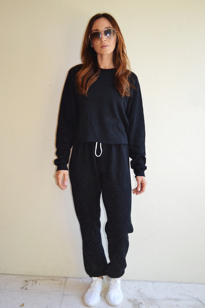 KE SWEAT SET PANTS - black