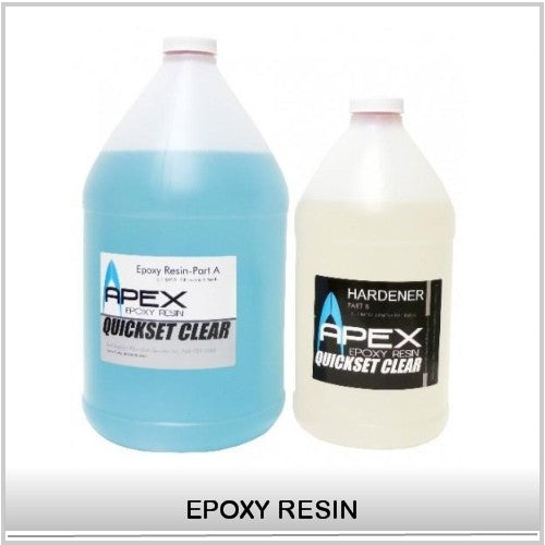 APEX Clear Surfboard epoxy Resin is a Single-phase resin System for Surfboards and paddleboards hand lamination provides Excellent UV resistance, High Strength,Non-Blush, Viscosity is low enough to allow exceptional wetout at room temperature