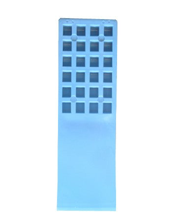 BLUE DEMOLDING WEDGE 10 X 3 1/8""