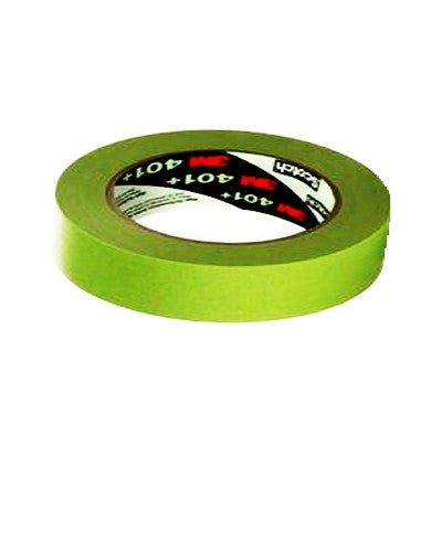 3M 401+ High Performance Green Masking Tape  3/4""