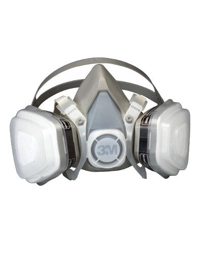 3M 52P71 Half Facepiece Disposable Respirator Assembly - Medium