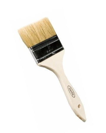 "4"" Single Thick Wood Handle Brush"