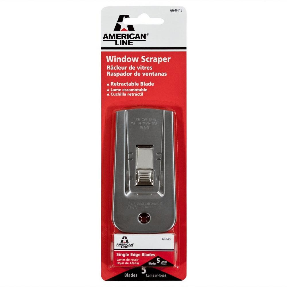 American Line Deluxe Heavy Duty Window Scraper