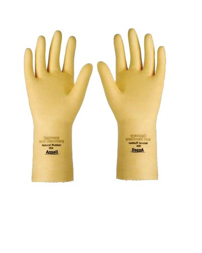 "ANSELL 394 Chemical Resistant Gloves, 20 MIL-12"" Long"