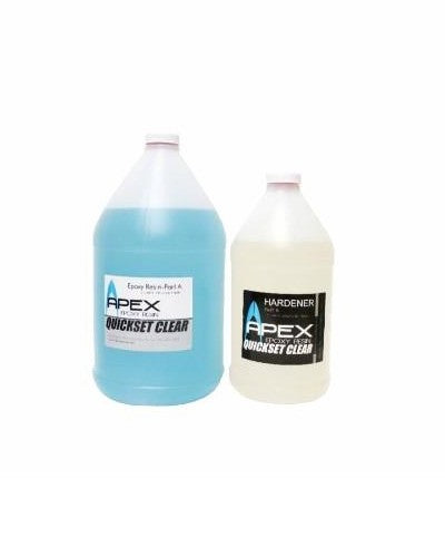 APEX  Surfboard Epoxy Resin 3 Quart Kit