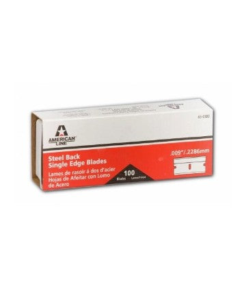 American Safety Razor 66-0412-0000 Heavy-Duty Single Edge Razor Blades