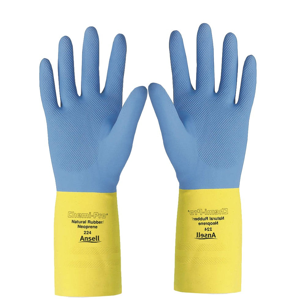 Ansell 224 Chemical Resistant Gloves 27 Mil 13 Quot Long