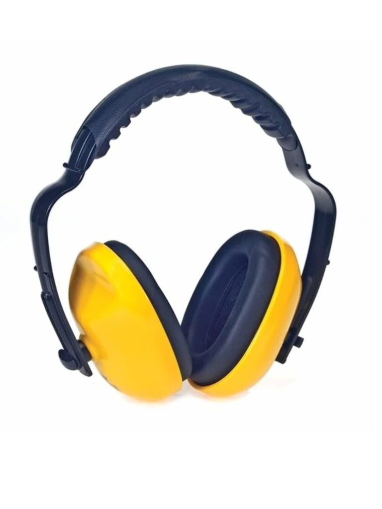 Ear Muffs with adjustable Headband, NRR 25, Yellow, each