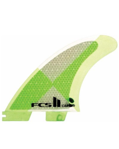 FCS II Carver Medium Tri Fin Set - Green