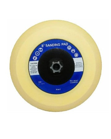 Fiberglass Source 8 in  Sanding Pad - Hard 3,500 RPM