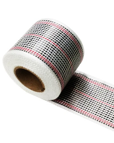 "Carbon Reinforcement Tape Colored Red 3""Wide - Per Yard"