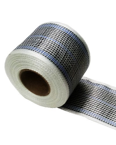 "Carbon Reinforcement Tape Colored Blue 3""Wide"